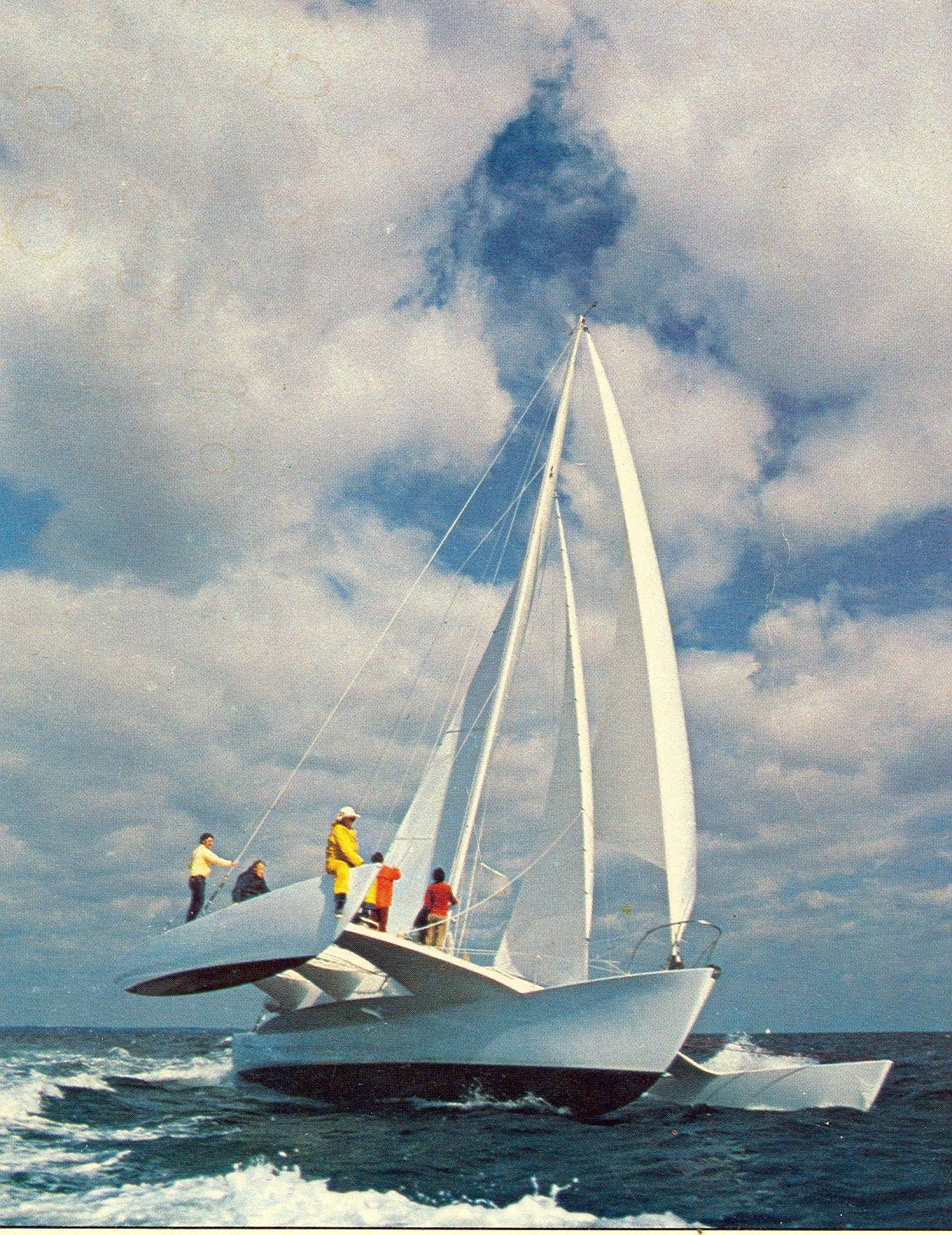 Rogue Wave Trimaran Photos Dick Newick